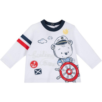 Textiel Kinderen T-shirts met lange mouwen Chicco 09006877000000 Wit