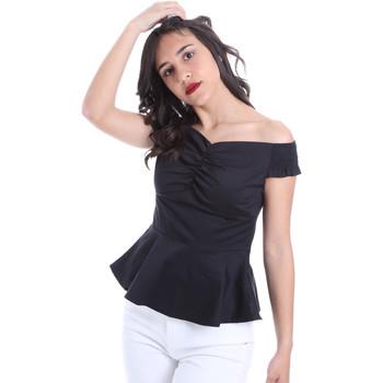 Textiel Dames Tops / Blousjes Gaudi 011FD45054 Zwart