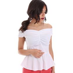 Textiel Dames Tops / Blousjes Gaudi 011FD45054 Wit