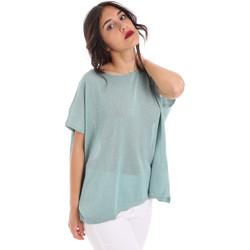 Textiel Dames Tops / Blousjes Gaudi 011FD53011 Blauw