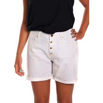 Textiel Dames Korte broeken / Bermuda's Gaudi 811BD25015 Wit