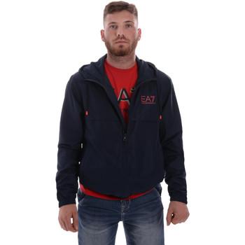 Textiel Heren Wind jackets Ea7 Emporio Armani 3HPB13 PN28Z Blauw