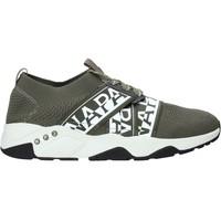 Schoenen Heren Lage sneakers Napapijri NA4ESB Groen