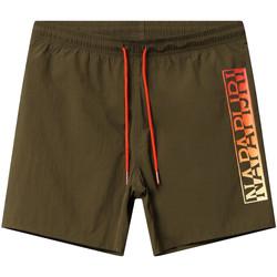 Textiel Heren Zwembroeken/ Zwemshorts Napapijri NP0A4E1J Groen