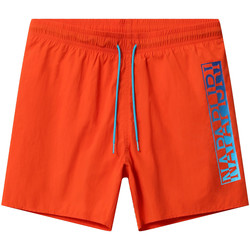 Textiel Heren Zwembroeken/ Zwemshorts Napapijri NP0A4E1J Oranje