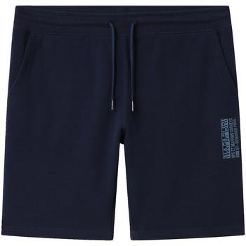 Textiel Heren Korte broeken / Bermuda's Napapijri NP0A4E1M Blauw