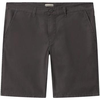 Textiel Heren Korte broeken / Bermuda's Napapijri NP0A4E1L Grijs
