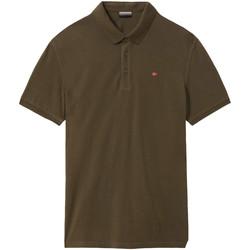Textiel Heren Polo's korte mouwen Napapijri NP0A4E2M Groen