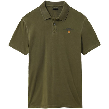 Textiel Heren Polo's korte mouwen Napapijri NP0A4E2L Groen