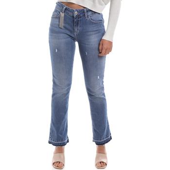 Textiel Dames Bootcut jeans Liu Jo UA0022 D4448 Blauw