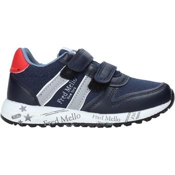 Schoenen Jongens Lage sneakers Fred Mello S20-SFK318 Blauw