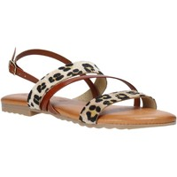Schoenen Dames Sandalen / Open schoenen Jeiday JUNGLA-SALLY Bruin