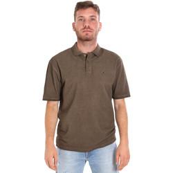 Textiel Heren Polo's korte mouwen Les Copains 9U9016 Bruin