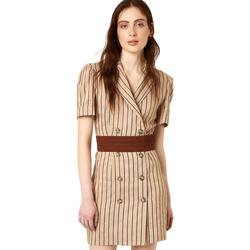 Textiel Dames Korte jurken Liu Jo FA0213 T4197 Beige