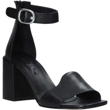 Schoenen Dames Sandalen / Open schoenen Mally 6866 Zwart