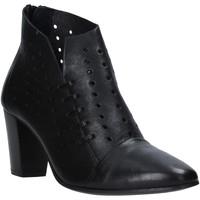 Schoenen Dames Enkellaarzen Mally 6878 Zwart