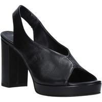 Schoenen Dames Sandalen / Open schoenen Mally 6843 Zwart