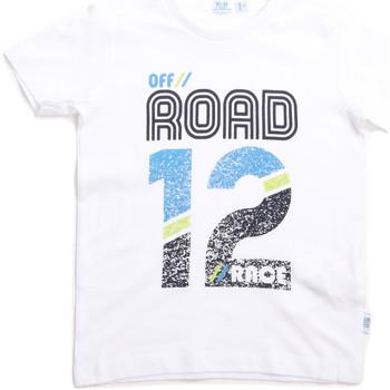 Textiel Kinderen T-shirts korte mouwen Melby 70E5544 Wit