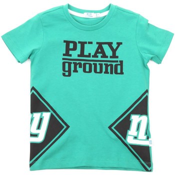 Textiel Kinderen T-shirts korte mouwen Melby 70E5544 Groen