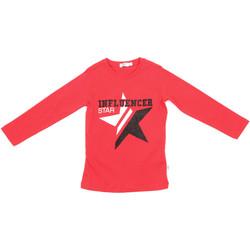 Textiel Kinderen T-shirts met lange mouwen Melby 70C5615 Rood