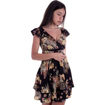 Textiel Dames Korte jurken Liu Jo FA0303 T4031 Zwart