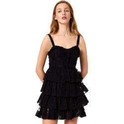 Textiel Dames Korte jurken Liu Jo FA0312 T4190 Zwart