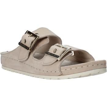 Schoenen Dames Leren slippers Lumberjack SW83506 001 D01 Beige