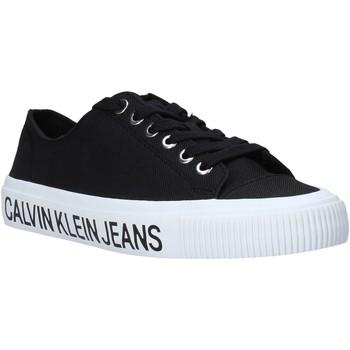 Schoenen Dames Lage sneakers Calvin Klein Jeans B4R0807X Zwart