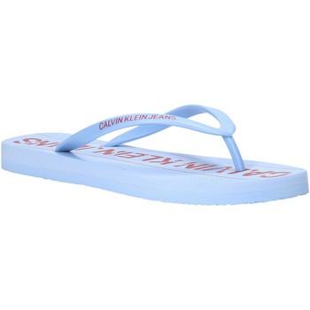 Schoenen Dames Teenslippers Calvin Klein Jeans B4R0904 Blauw
