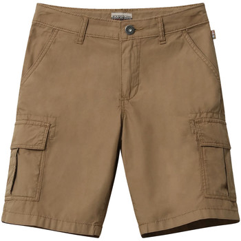 Textiel Kinderen Korte broeken / Bermuda's Napapijri NP0A4E4G Bruin