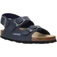 Schoenen Kinderen Sandalen / Open schoenen Lumberjack SB78706 001 S03 Blauw