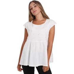 Textiel Dames Tops / Blousjes NeroGiardini E062761D Wit