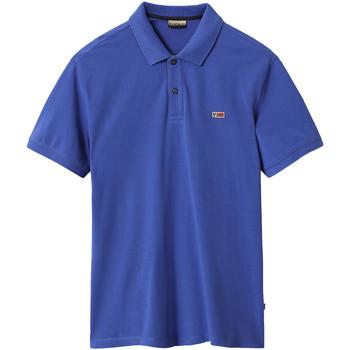 Textiel Heren Polo's korte mouwen Napapijri NP0A4EGD Blauw
