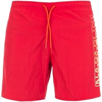 Textiel Heren Zwembroeken/ Zwemshorts Napapijri NP0A4E1J Rood