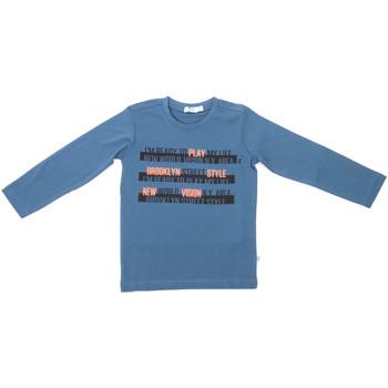 Textiel Kinderen T-shirts met lange mouwen Melby 70C5524 Blauw