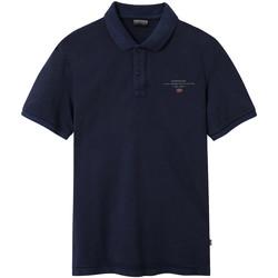Textiel Heren Polo's korte mouwen Napapijri NP0A4EGC Blauw