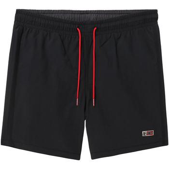 Textiel Heren Zwembroeken/ Zwemshorts Napapijri NP0A4EB2 Zwart