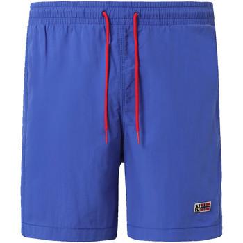 Textiel Heren Zwembroeken/ Zwemshorts Napapijri NP0A4EB2 Blauw