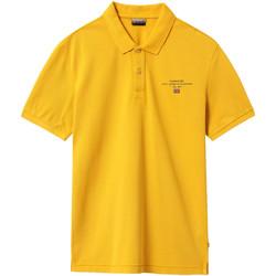 Textiel Heren Polo's korte mouwen Napapijri NP0A4EGC Geel