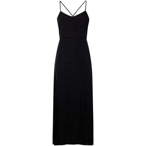Textiel Dames Lange jurken Calvin Klein Jeans J20J213630 Zwart