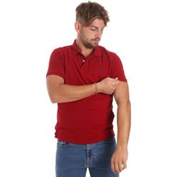 Textiel Heren Polo's korte mouwen U.S Polo Assn. 55957 41029 Rood
