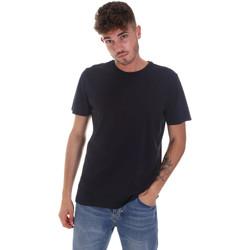 Textiel Heren T-shirts korte mouwen Navigare NV31128 Blauw