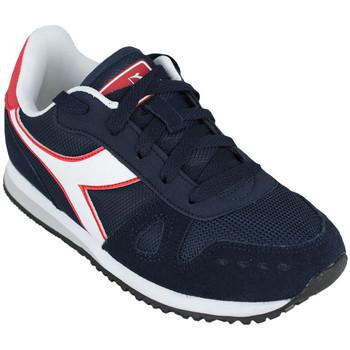 Schoenen Kinderen Running / trail Diadora simple run gs c1512 Blauw