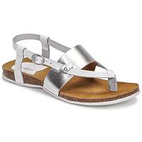 Schoenen Dames Sandalen / Open schoenen Kickers ANAGRAMI Wit / Zilver