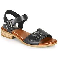 Schoenen Dames Sandalen / Open schoenen Kickers BUCIDI Zwart