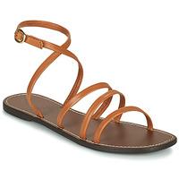 Schoenen Dames Sandalen / Open schoenen Kickers KICKNICE Camel