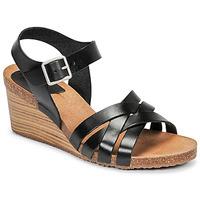 Schoenen Dames Sandalen / Open schoenen Kickers SOLYNIA Zwart