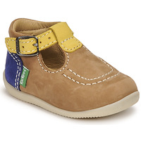 Schoenen Jongens Sandalen / Open schoenen Kickers BONBEK-2 Beige / Geel / Marine