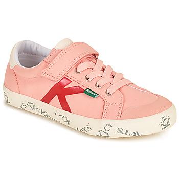Schoenen Meisjes Lage sneakers Kickers GODY Roze