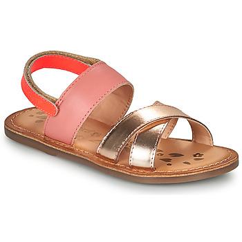 Schoenen Meisjes Sandalen / Open schoenen Kickers DYACROSS Roze